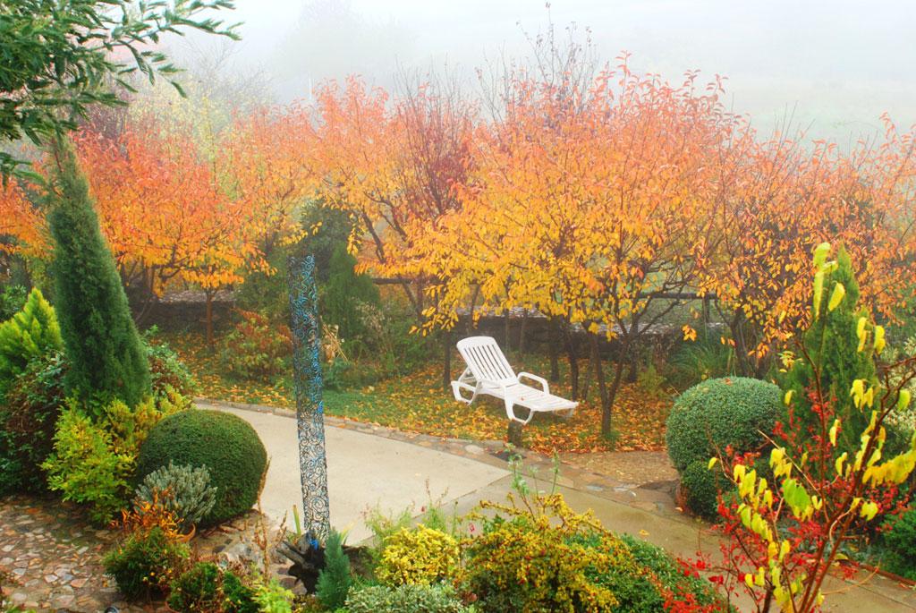 Los jardines casa rural en salamanca for Los jardines de lola